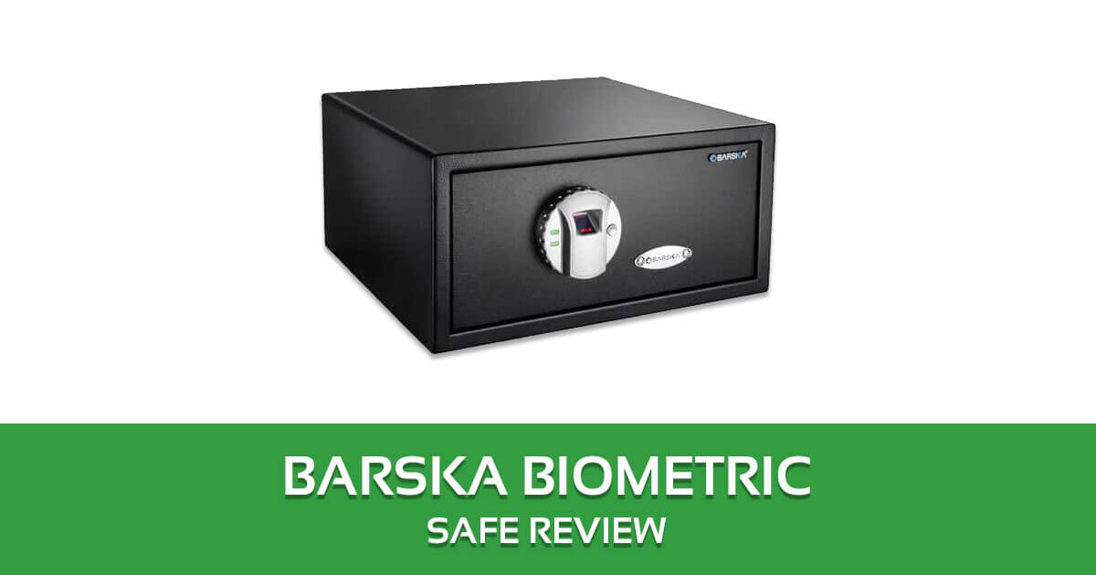 BARSKA Biometric Safe Review