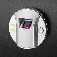 BARSKA Biometric Safe fingerprint