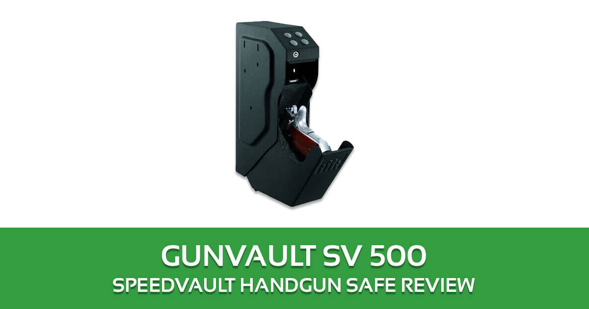 GunVault SV 500 SpeedVault Handgun Safe Review