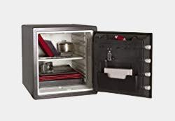 SentrySafe SFW123DSB 1.23 Cubic Feet Combination Fire-Safe, Medium Grey Review