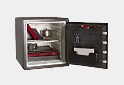 SentrySafe SFW123DSB 1.23 Cubic Feet Combination Fire-Safe, Medium Grey Review