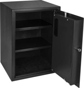 BARSKA Large Biometric Safe Open 2