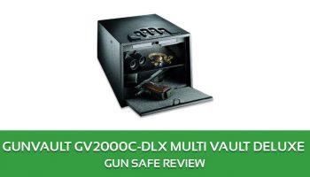 Gunvault GV2000C-DLX Multi Vault Deluxe Gun Safe Review