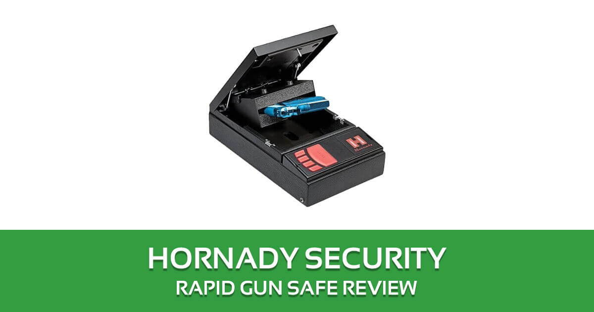 Hornady Security Rapid Gun Safe