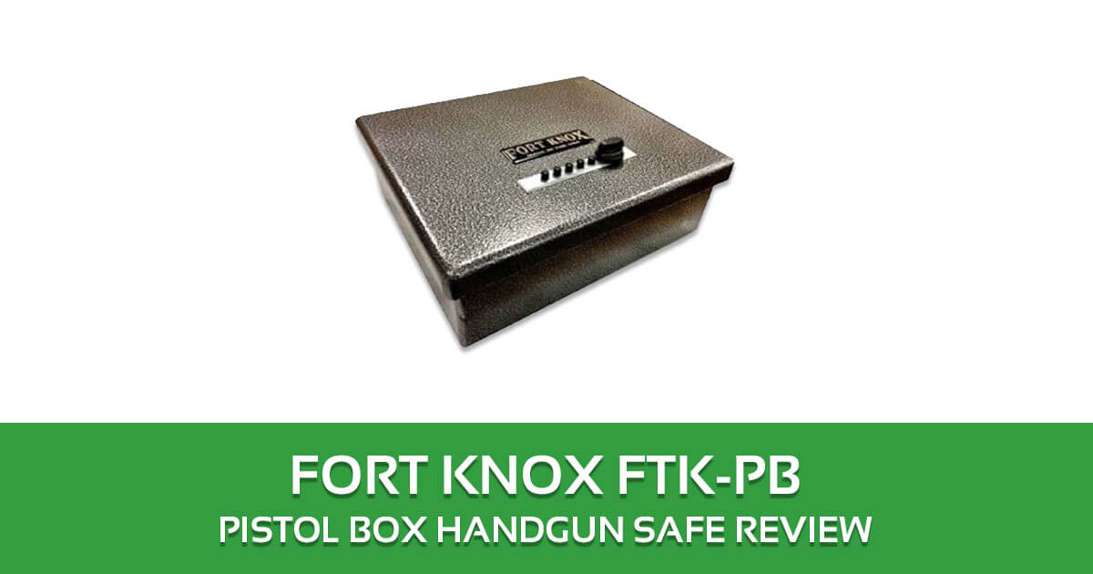 SentrySafe PP1K Portable Pistol Safe Review