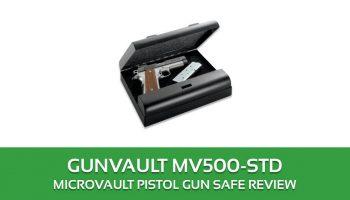 Gunvault MV500-STD Microvault Pistol Gun Safe Review