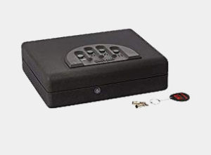 Gunvault MicroVault XL MVB1000 gun safe Biometric fingerprint