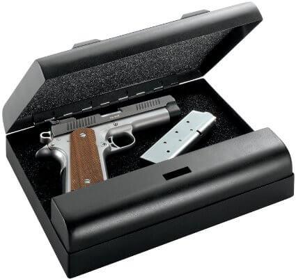 Gunvault MV500-STD Microvault Pistol Gun Safe Inside
