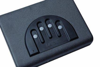 Gunvault MV500-STD Microvault Pistol Gun Safe top
