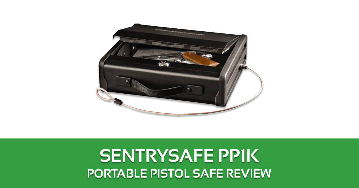 SentrySafe PP1K Portable Pistol Safe Review
