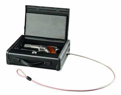 SentrySafe-PP1K-Portable-Pistol-Safe-open
