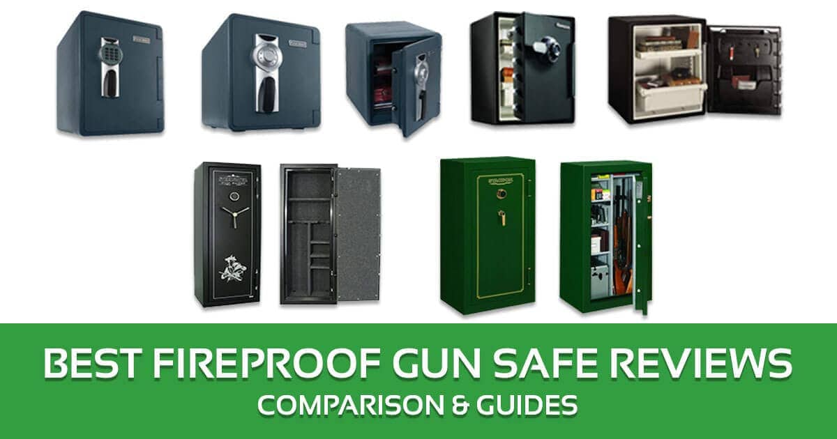 Best Fireproof Gun Safe Reviews, Comparison & Guides – Buyer's Guide