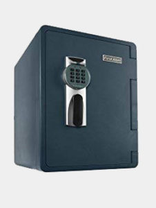 First Alert 2096DF Waterproof Fire Safe with Digital Lock, 2.14 Cubic Foot, Gray Review