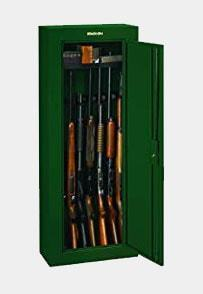 Stack-On GCG-908 Steel 8 Gun Security Cabinet, Green Review