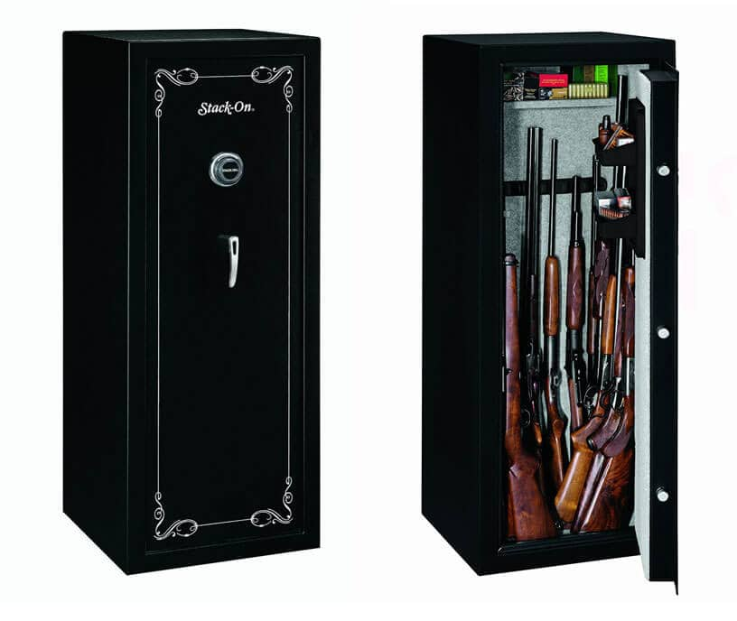 Stack On 16 Gun Safe Cabinet Review SS-16-MB-C
