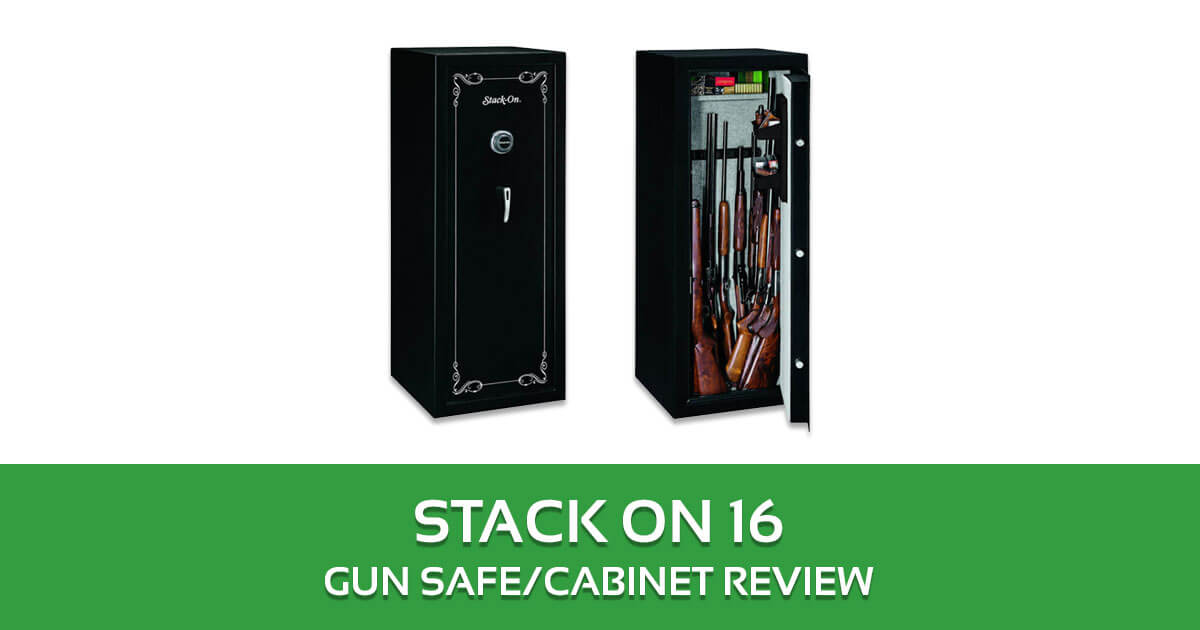 Stack On 16 Gun Safe/Cabinet Review SS-16-MB-C
