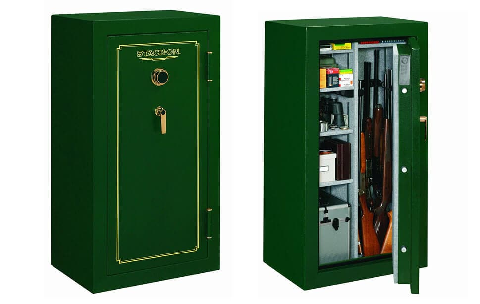 Stack-On FS-24-MG-C 24-Gun Fire Resistant Safe with Combination Lock