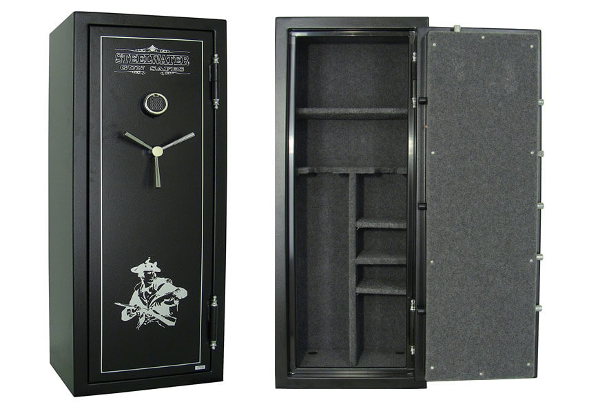 Steelwater Heavy Duty Gun Safe AMSW592818-blk