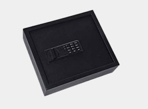 "Ivation Drawer Safe, Digital Keypad, Large – 4.37"" x 13.7"" x 11.8"" Home Security Box, Backup Keys & Mounting Kit"