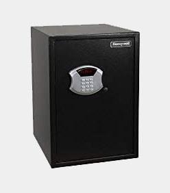 Honeywell 5107 Large Steel Security Safe, 2.81-Cubic Feet, Black