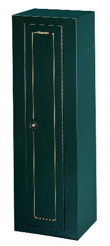 Stack-On GCG-910-DS Steel 10-Gun Security Cabinet, Green