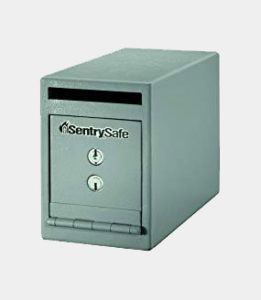 SentrySafe UC-025K Solid Steel Drop Slot Safe, Gray Review