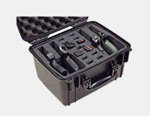 Case Club Waterproof 4 Pistol Case with Silica Gel Review