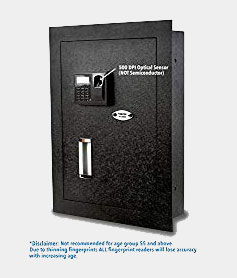 Viking Security Safe VS-52BLX Biometric Fingerprint Hidden Wall Safe Review