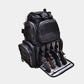 Case Club Tactical 4-Pistol Backpack with Rainfly & Molle Straps, (GEN 2) Review