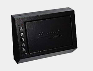 Homak HS10036683 10 x 3.5 x 7.5 Inch Electronic Access Pistol Box Review