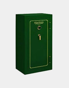 Stack-On FS-24-MG-C 24-Gun Fire Resistant Safe with Combination Lock, Matte Hunter Green Review
