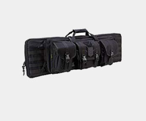 Ranger Double Rifle Case - Padded Long Gun Case & Rifle Storage Backpack With MOLLE Pouches, Integrated Pistol Cases and Magazine Storage (42 inch) Review