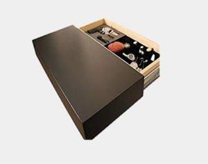 Covert Cabinets GS-1228 Gun Cabinet Wall Shelf Hidden Storage, Espresso Review