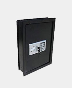 Digital Electronic Flat Recessed Wall Hidden Safe Security Box Jewelry Gun Cash (Black) Review