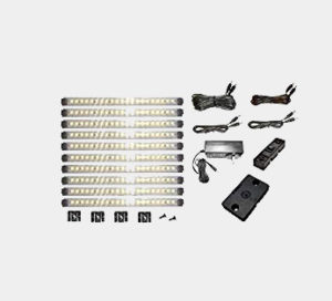 Pro Series Super Deluxe 21 LED Warm White Kit with 4-Position Dimmer, and super cable pack ($260 value!) Review