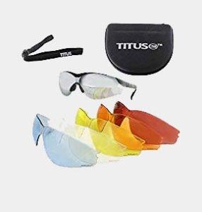 Titus Premium G Series Multi-Lens Safety Glasses Bundle - Professional Range Glasses, 9 Piece Kit Review