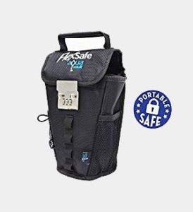 FlexSafe by AquaVault- Anti-Theft Portable Safe, Packable Travel Vault, Outdoor LockBox. As Seen On Shark Tank Review
