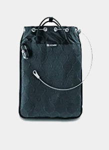 Pacsafe Travelsafe 12L GII Portable Safe, Charcoal Review