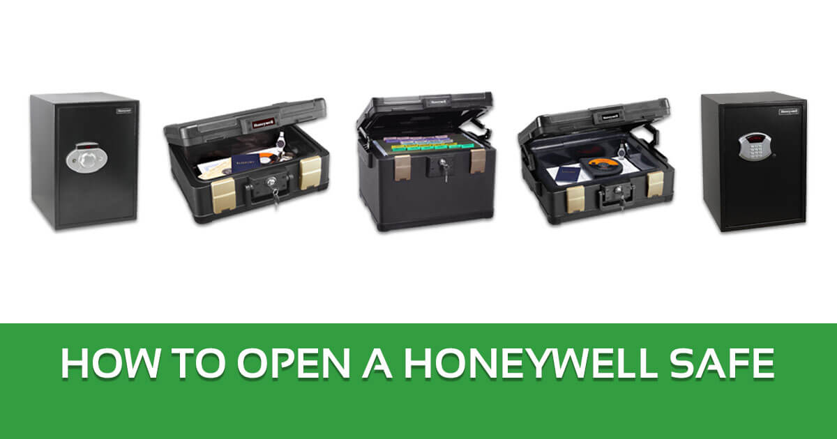 How to Open a Honeywell Safe