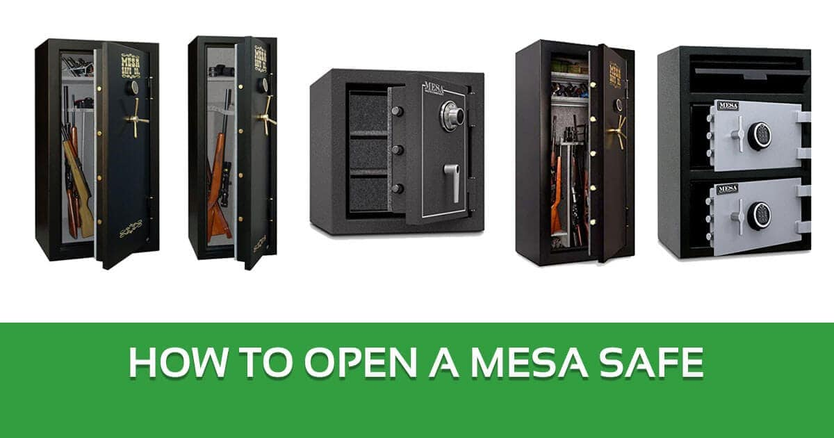 How to Open a Mesa Safe