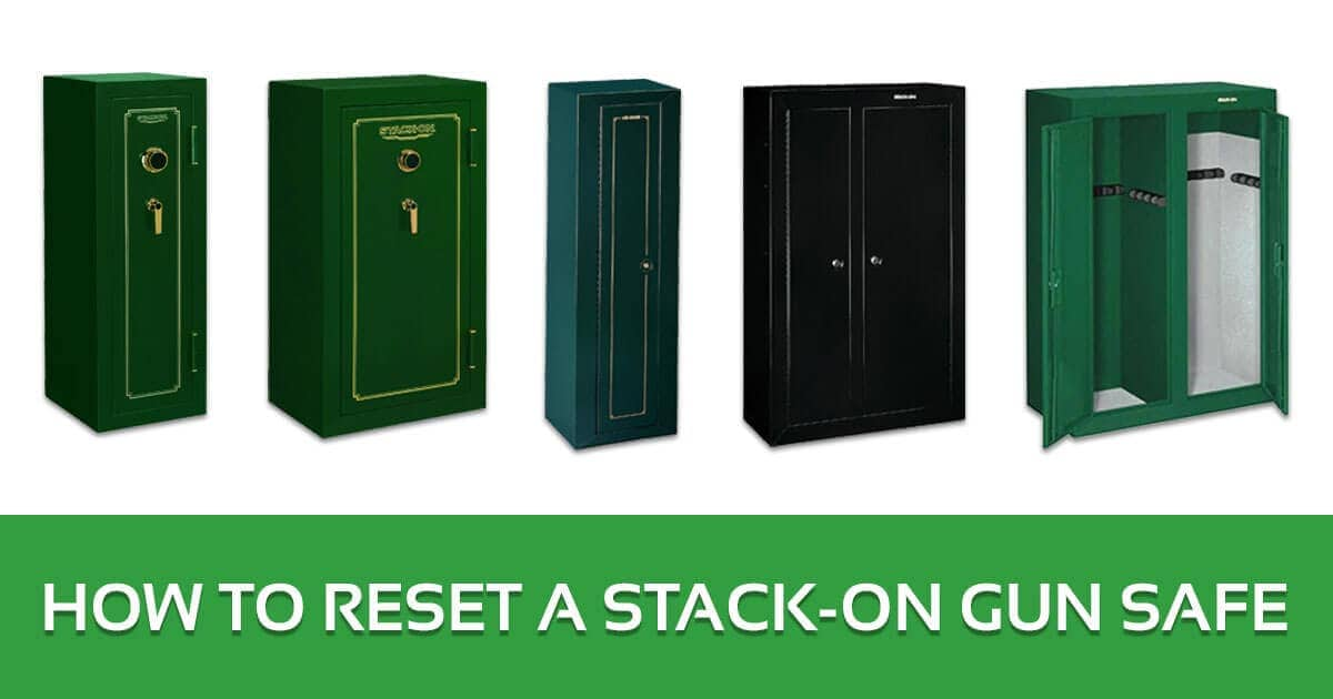 How to Reset a Stack-On Gun Safe