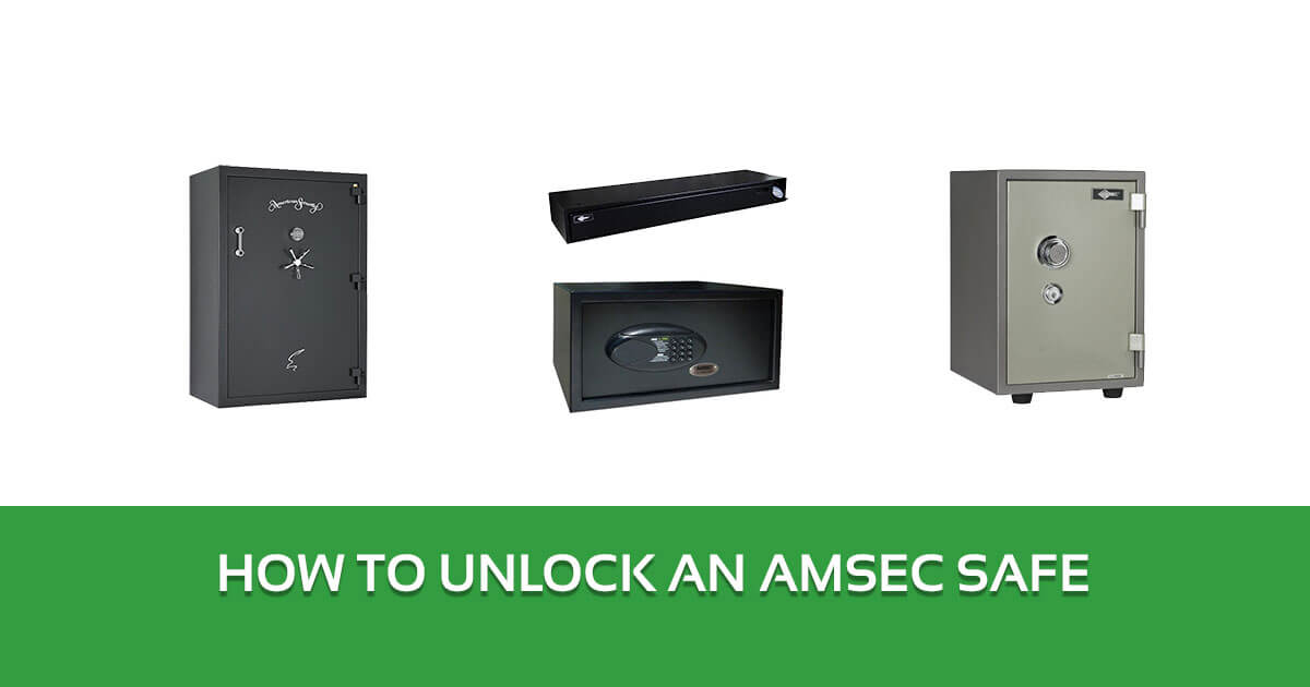 How to Unlock an American Security Safe (Amsec) - A Step by Step Guide 1