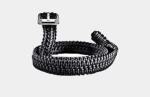 RattlerStrap Paracord Survival Belt (Black, Medium (36-38)) Review