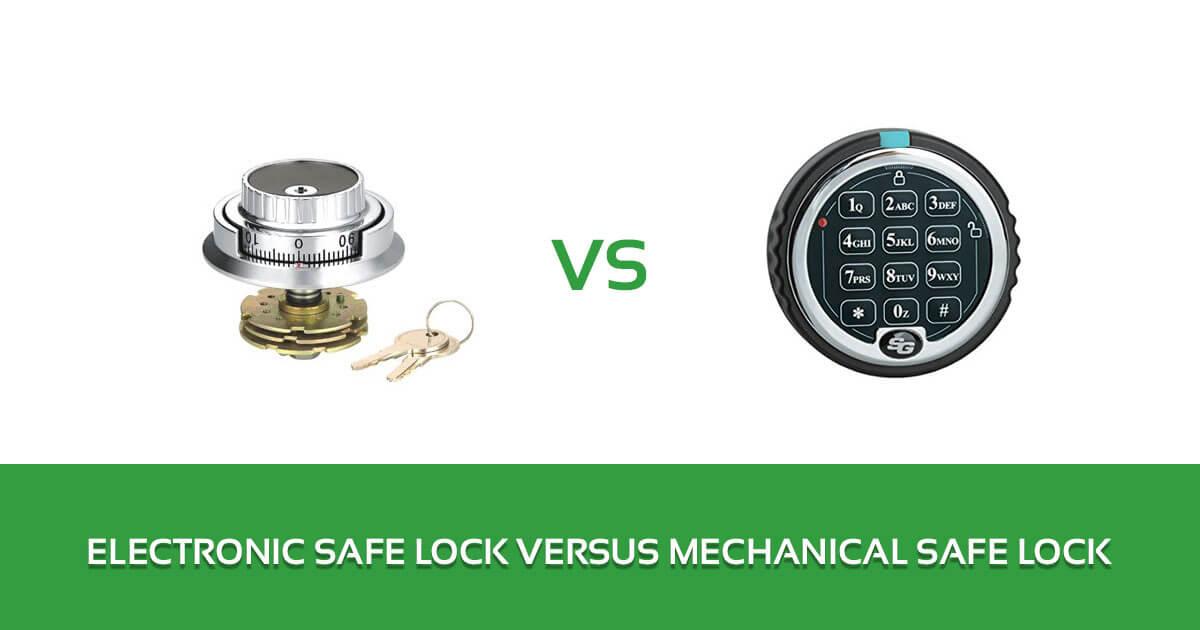 Electronic Safe Lock Versus Mechanical Safe Lock 1