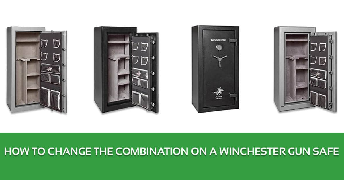 How to Change the Combination on a Winchester Gun Safe