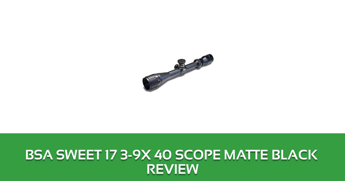 BSA Sweet 17 3-9x 40 Scope Matte Black Review