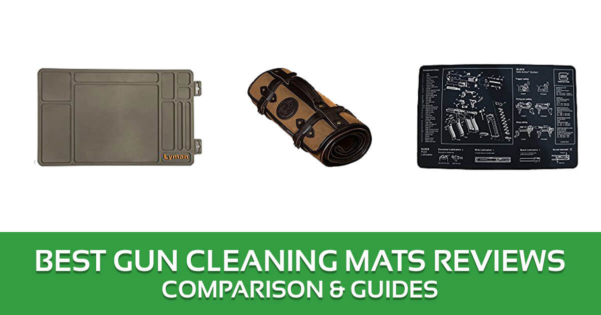 Best Gun Cleaning Mats Reviews – 2017 Top Picks and Buyer's Guide