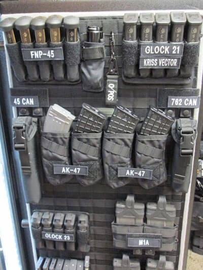 Gun Safe Organizer Ideas