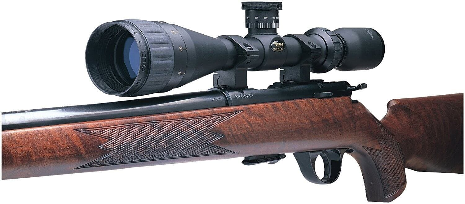How to Sight in BSA Sweet 17 Scope