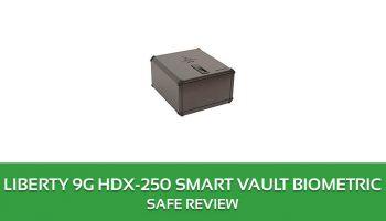 Liberty 9G HDX-250 Smart Vault Biometric
